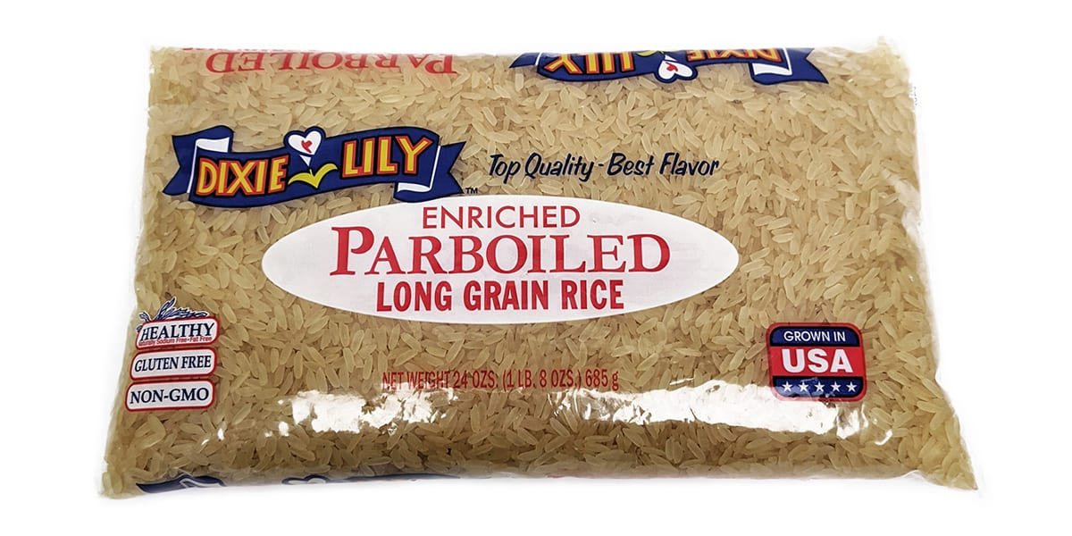 Dixie Lily Long Grain Rice Enriched Parboiled 24oz